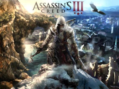 Promobild för spelet Assassin's Creed, i en branch som sysselsätter tusentals konstnärer.